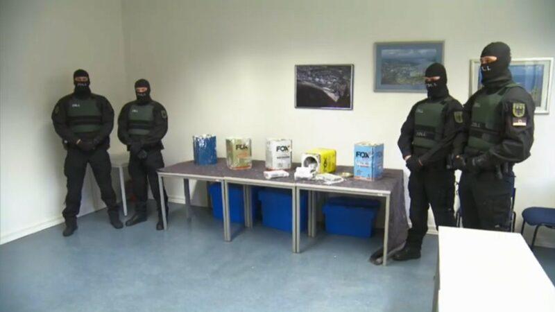 市價高達6億歐元 歐洲查獲破紀錄23公噸古柯鹼