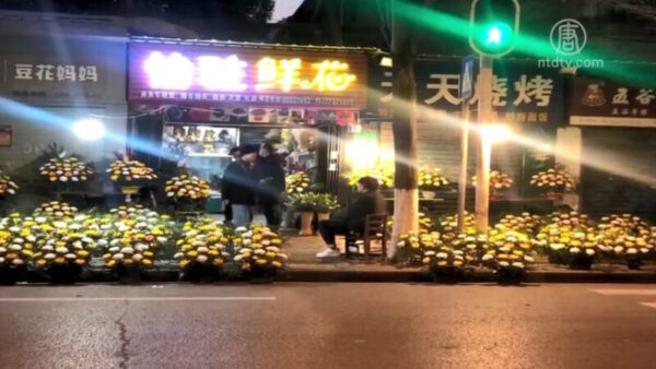 """袁斌:武汉新年花市火爆 党媒谎称""""报复性消费"""""""