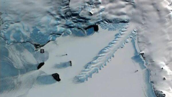 南極冰川驚現10公里齒輪狀冰牆 UFO墜落的痕跡?