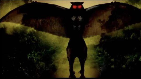 英教堂上空惊现猫头鹰人形生物 鸮人还是外星生物?