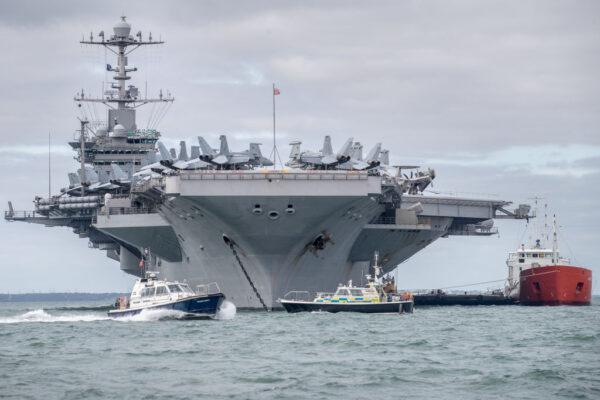 視中共最大挑戰 美航母撤出中東駛入印太地區