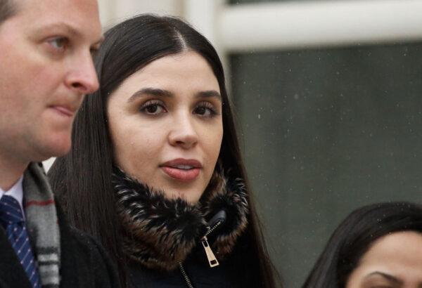 涉跨国毒品走私 美国逮捕墨西哥毒枭古兹曼妻子