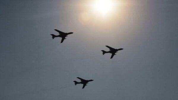 共軍南海軍演 11架次軍機進入台西南空域
