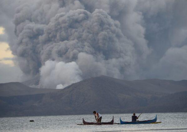 菲律賓3座火山相繼擾動 進入警戒狀態