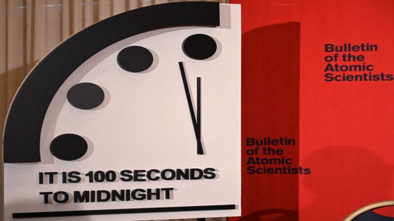 """""""世界末日时钟""""仅剩100秒 人类面临危险"""