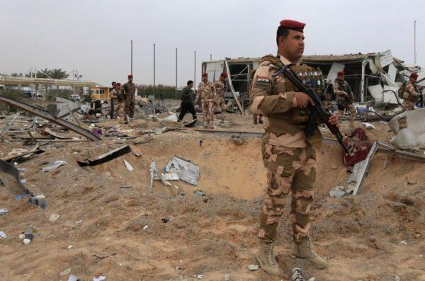 伊拉克美軍駐紮基地 再遭火箭襲撃