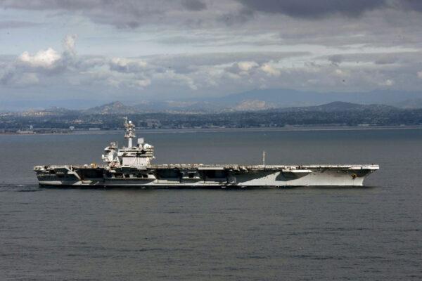 罗斯福号航母爆3水兵确诊 密切接触者无阳性