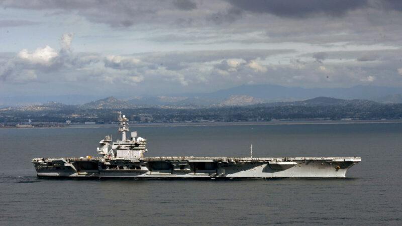 羅斯福號航母爆3水兵確診 密切接觸者無陽性