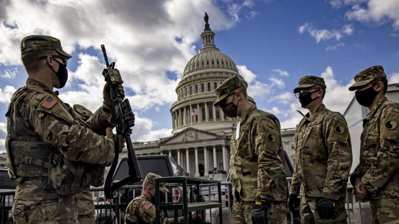 美國民衛隊:5000軍人將長駐華府
