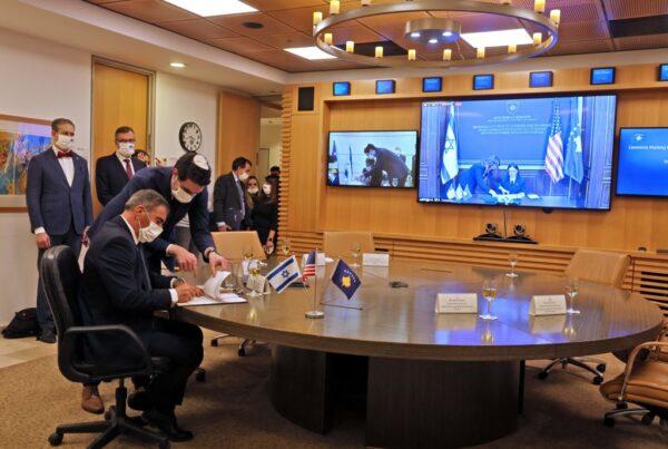 川普斡旋下 科索沃与以色列透过视讯建交