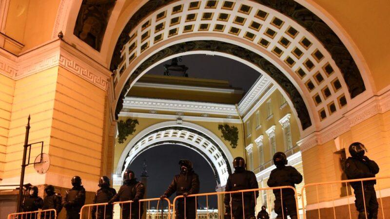 纳瓦利内被判3年半 西方国家吁俄罗斯立即放人