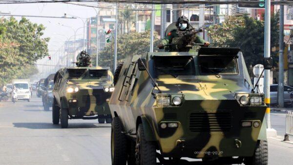 緬甸軍隊開槍鎮壓 被質疑用漢語喊口令(視頻)