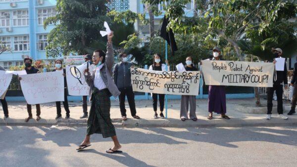 学者:缅甸政变或得到北京默许 吁制裁中共