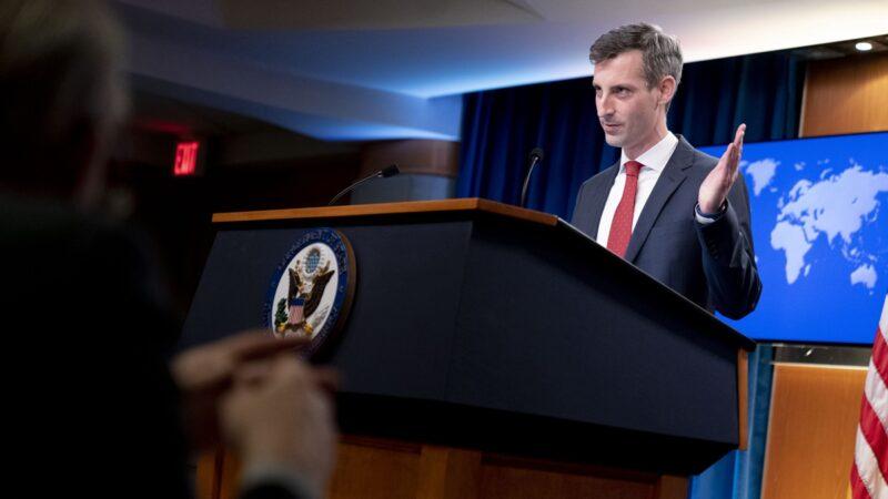 中共扬言海上开火 美国务院警告:不得动武