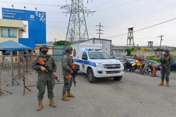 震驚!厄瓜多爾3座監獄同時暴動 至少62囚喪命