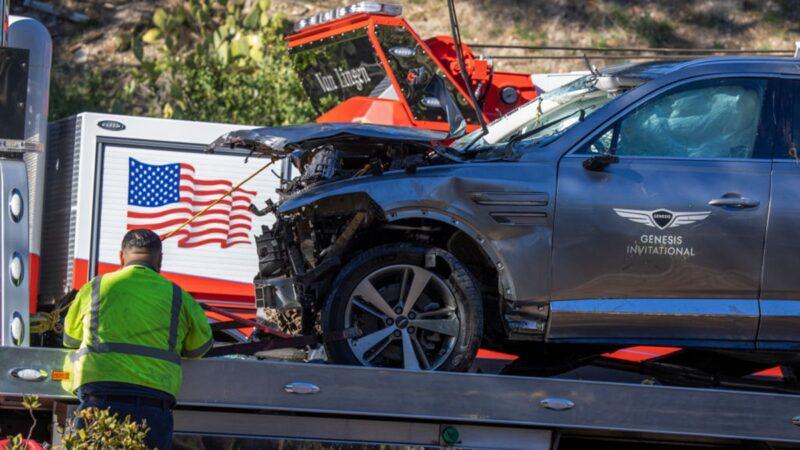 老虎伍茲車禍重傷 警方點出兩大活命關鍵