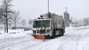 年度最強冬季風暴襲擊美東 紐約緊急狀態 降雪達2英尺