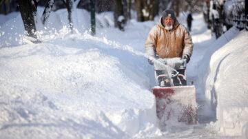 美東遭受風雪凍雨夾擊 下週氣溫回升