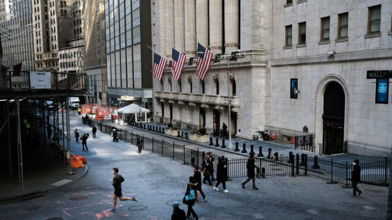 公債殖利率驟升伴隨通膨憂慮 道瓊兩天跌逾1000點