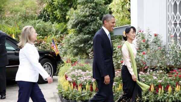 美媒:昂山素季是美國民主黨大佬們的親密盟友