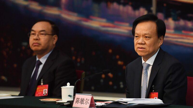 陳敏爾寄投名狀?一週兩批鄧恢林獲北京認可
