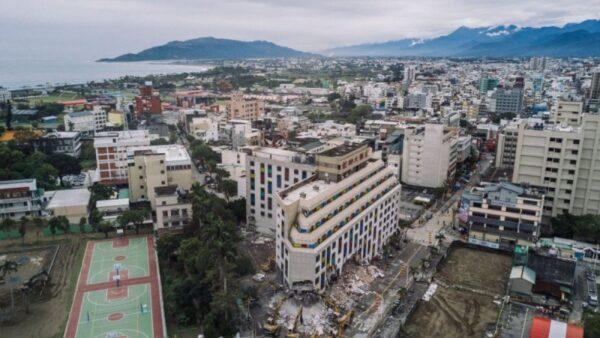 台湾东部6.1级地震 警报狂响全台皆有震感