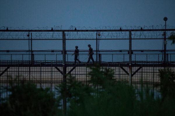 朝鲜男闯军事禁区 韩发敌军入侵一级警戒