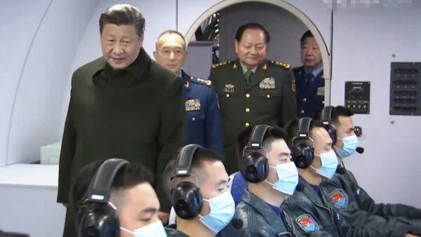 習近平視察特種軍機 分析:主要針對台灣和美國