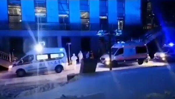 通化市方舱医院启用 逾300床位8个重症床(视频)