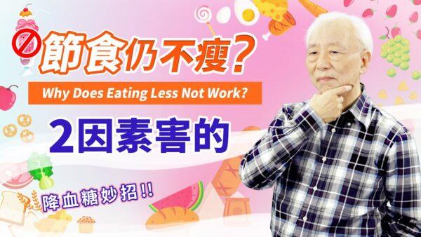 【胡乃文】节食仍不瘦?2因素害的