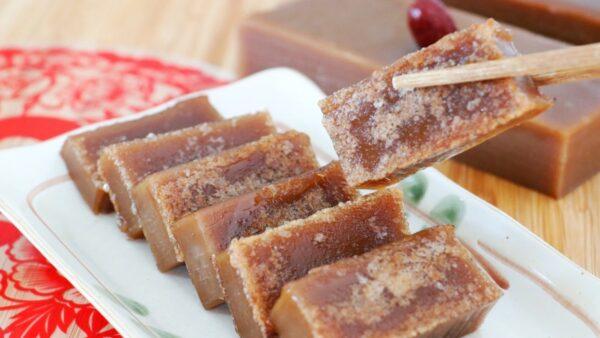 【美食天堂】蔗糖年糕做法 美味香滑Q弹