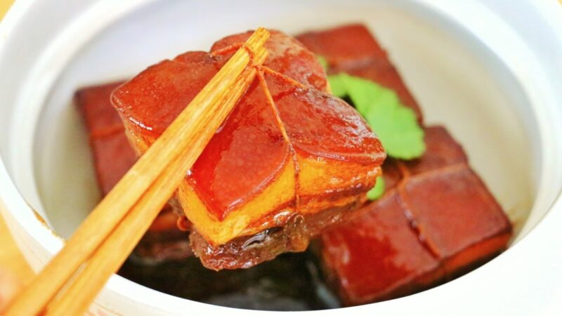 【美食天堂】著名东坡肉做法~肥而不腻 入口即化