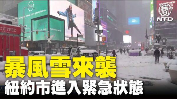 【現場直擊】暴風雪來襲 紐約市進入緊急狀態