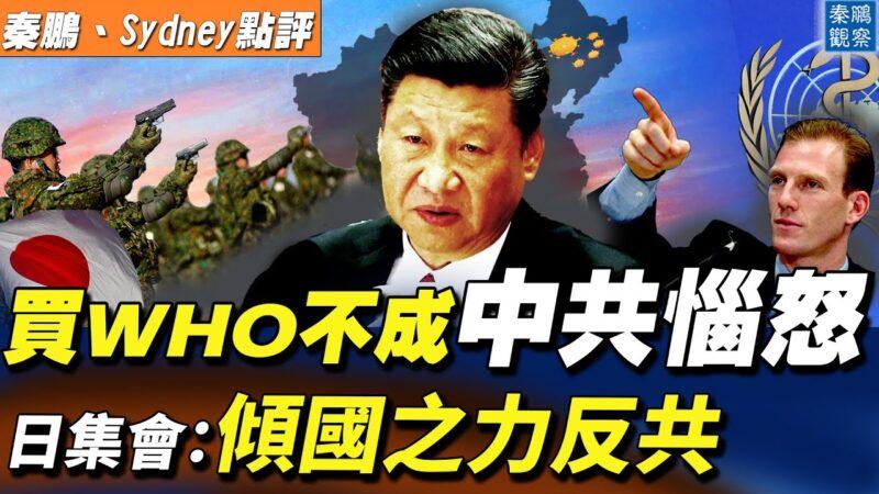【秦鹏直播】收买世卫不成 中共恼怒 反呛美国