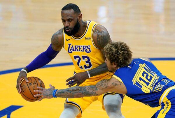 NBA詹姆斯生涯98次大三元 勇士被湖人K.O.