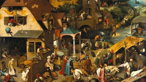 欧洲最怪诞的瘟疫事件 400人街头乱舞直至力竭身亡