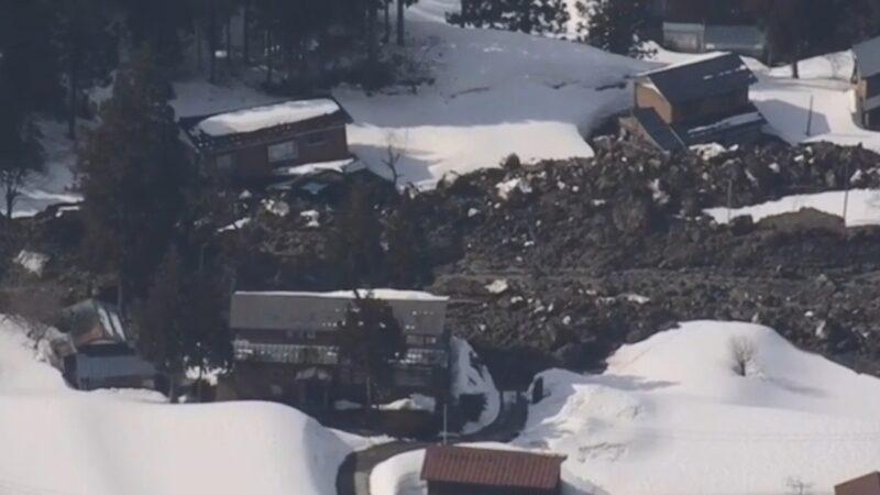 疑大雪後岩體滑動 日本新潟4人受困(視頻)