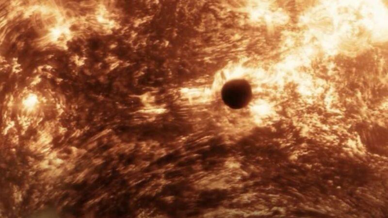 NASA拍到不明物靠近太陽 二級文明現身太陽系?
