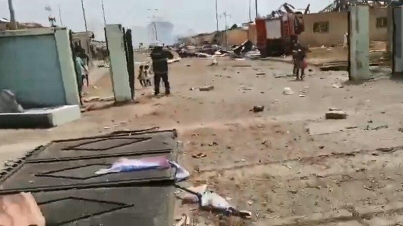 赤道几内亚军营连环爆 死亡攀升至98人受伤615人