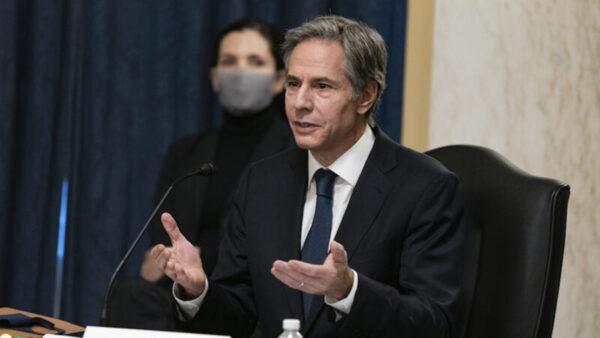 美国务卿呼吁盟友 联合抵制中共威胁