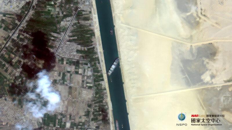 長榮貨輪卡運河 美國海軍欲馳援 土耳其伸橄欖枝
