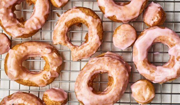 泡芙釉面甜甜圈 懒人的幸福早餐