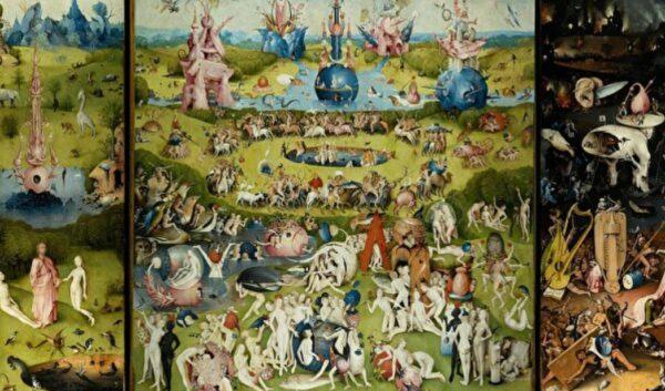 名画赏析——波许的《享乐花园》三折画