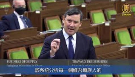加保守黨籲下議院宣布中共在新疆實施種族滅絕