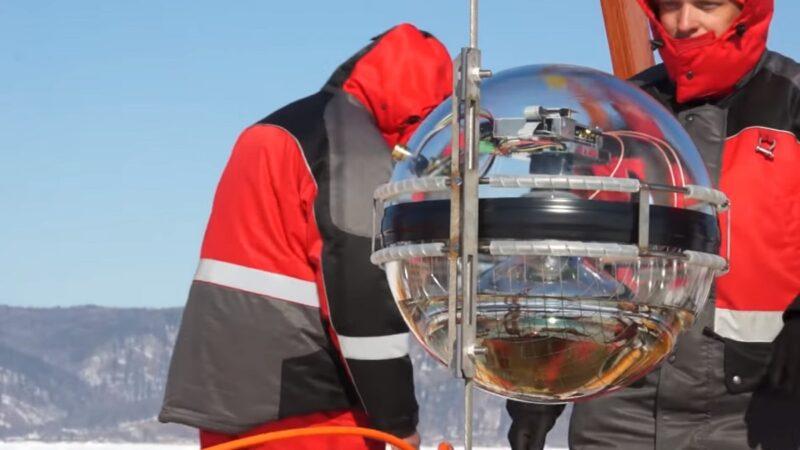 探測微中子 科學家在貝加爾湖啟用深水望遠鏡