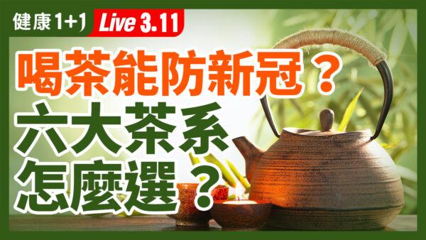 【重播】喝茶能防疫?6大茶系怎么选