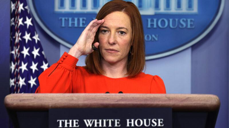 """拜登被称""""移民总统"""" 白宫发言人遭记者追问"""