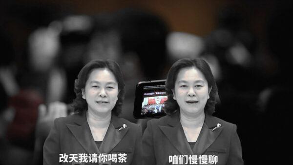 華春瑩狂笑請記者喝茶 網友:記者嚇出冷汗(視頻)