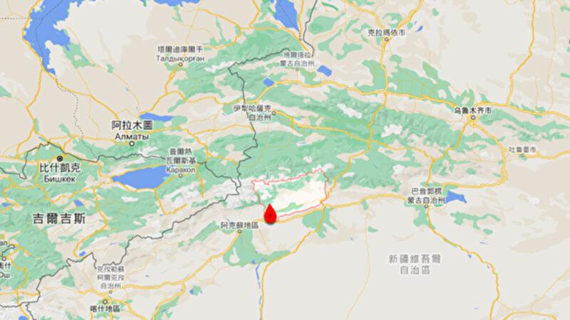新疆拜城縣24日連發兩次地震 最高5.4級