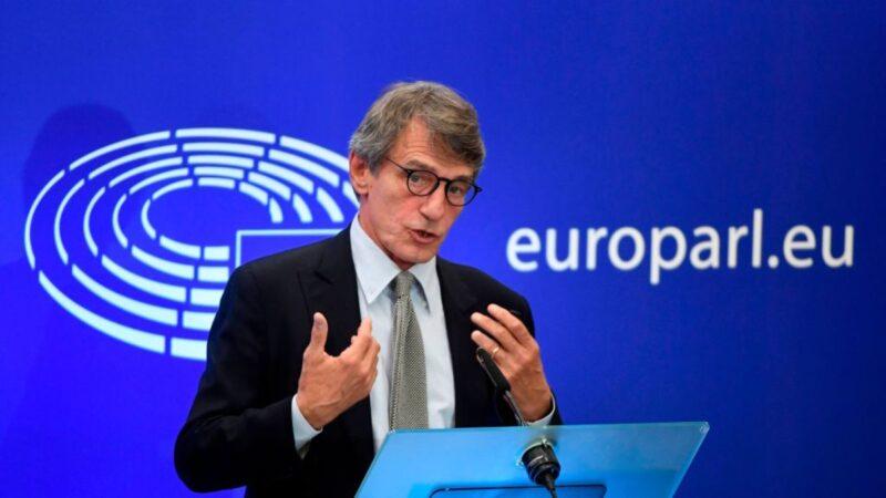 回击中共反制裁 欧洲议会取消审议中欧投资协定